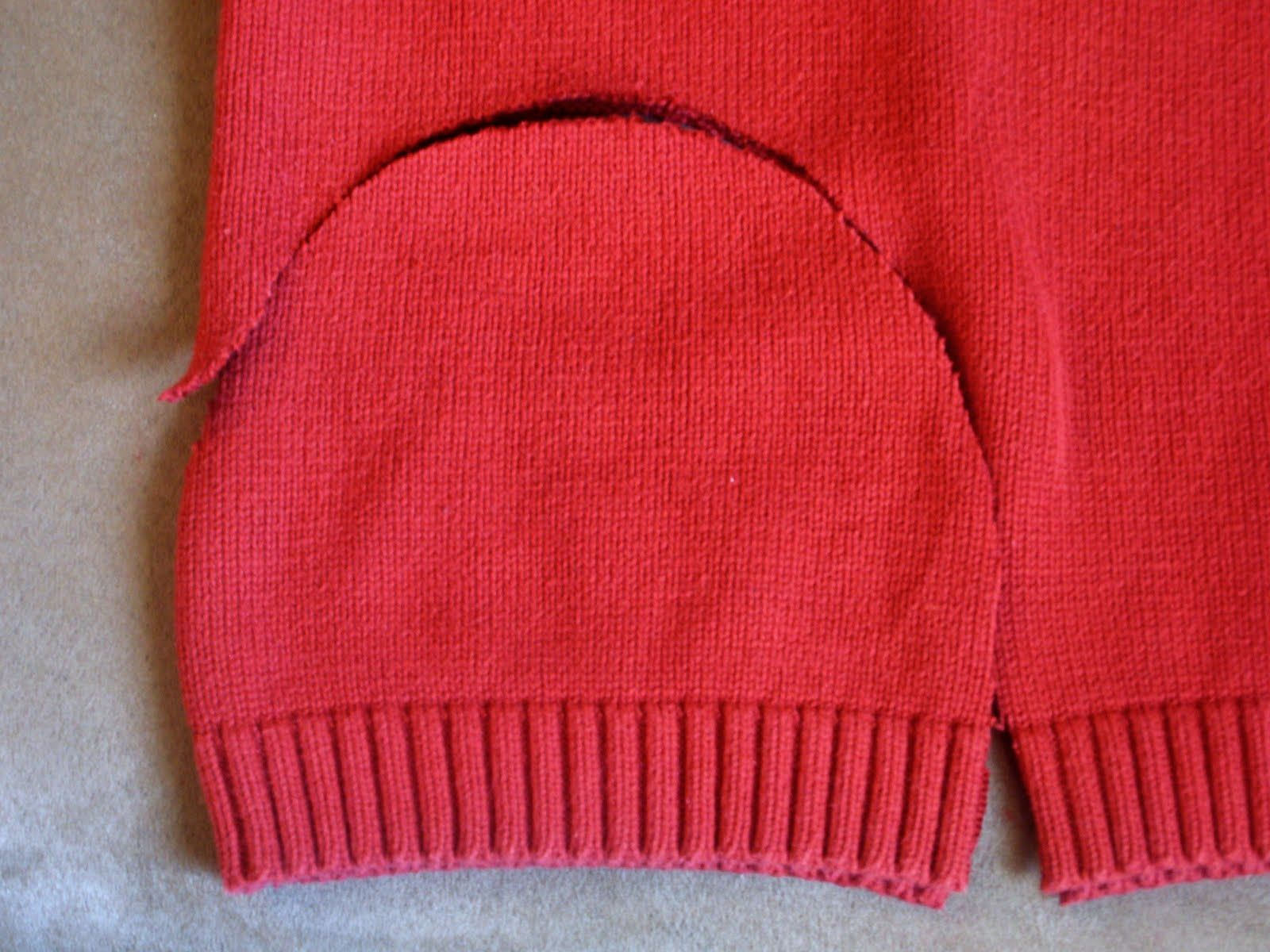Sweater from old sweaters: ideas, recommendations. New life of old sweater 68