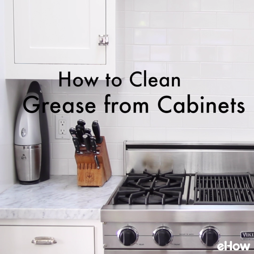 easy to make homemade kitchen cabinet cleaner | squeaky
