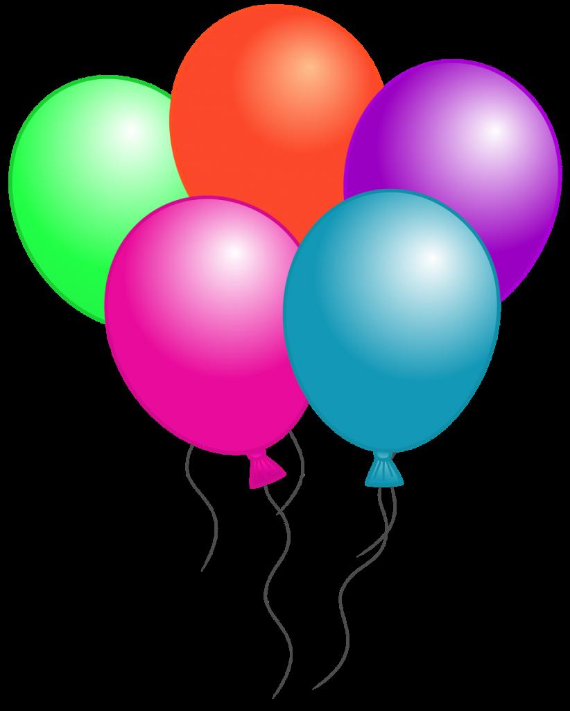 medium resolution of free birthday balloon clip art free clipart images