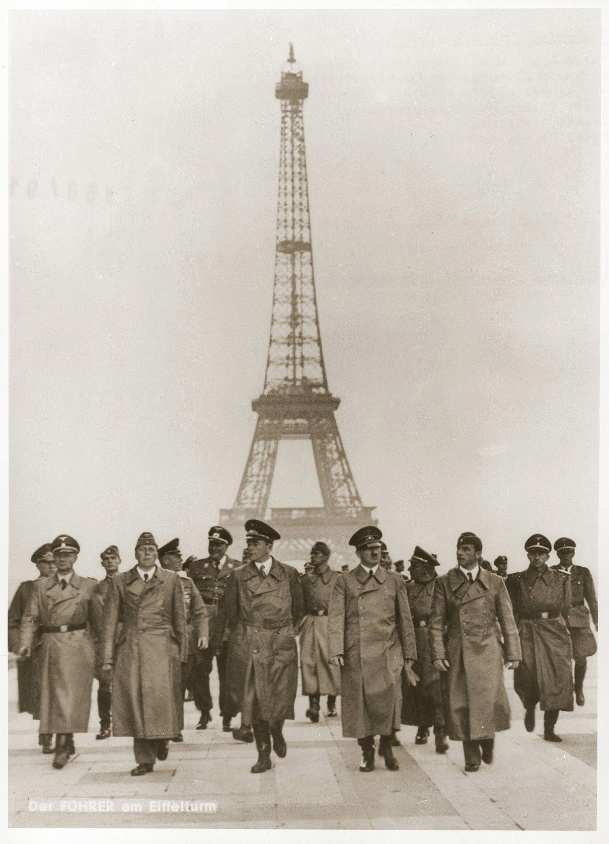 Hitler and the Eiffel Tower