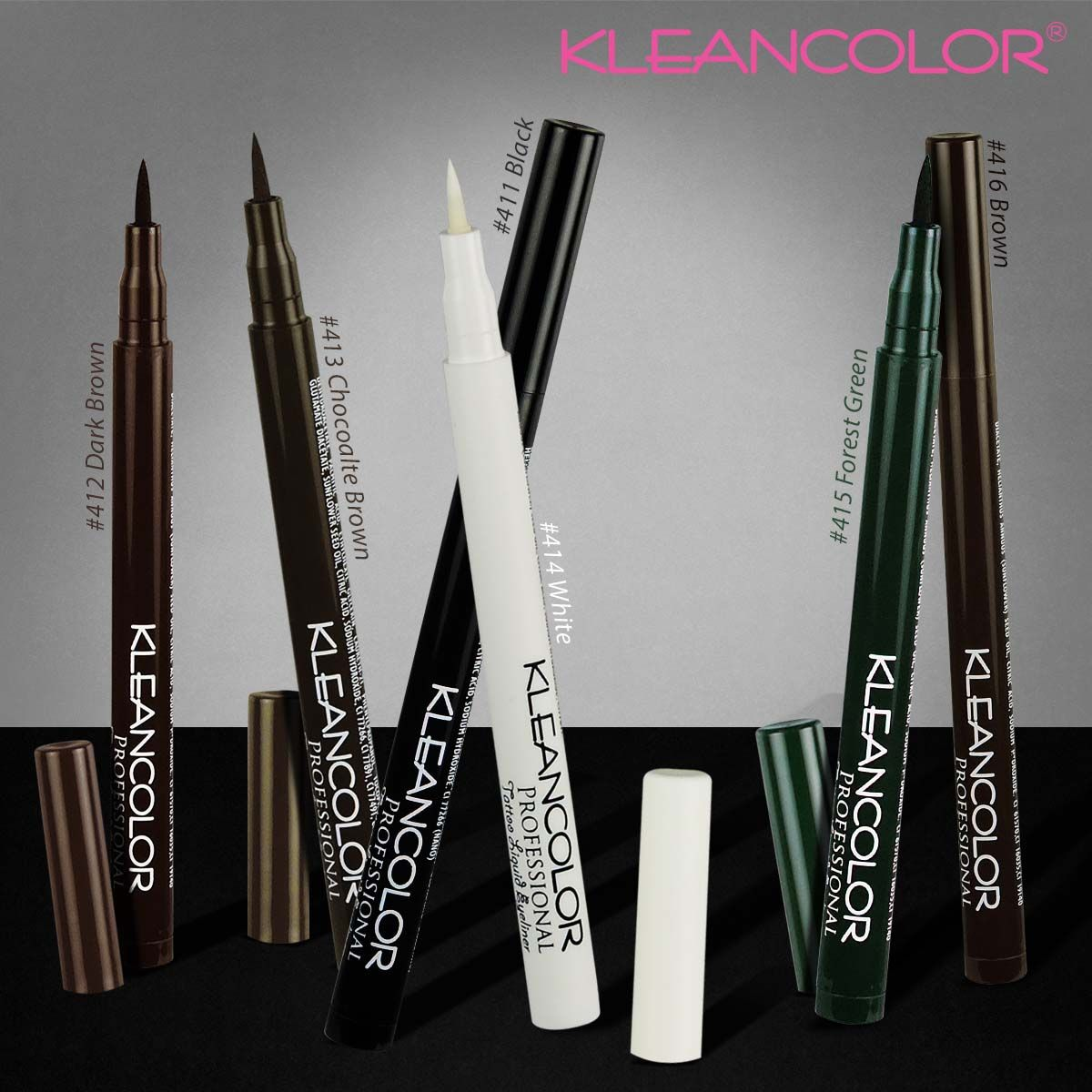 Professional tattoo colored liquid eyeliner pen Liquid