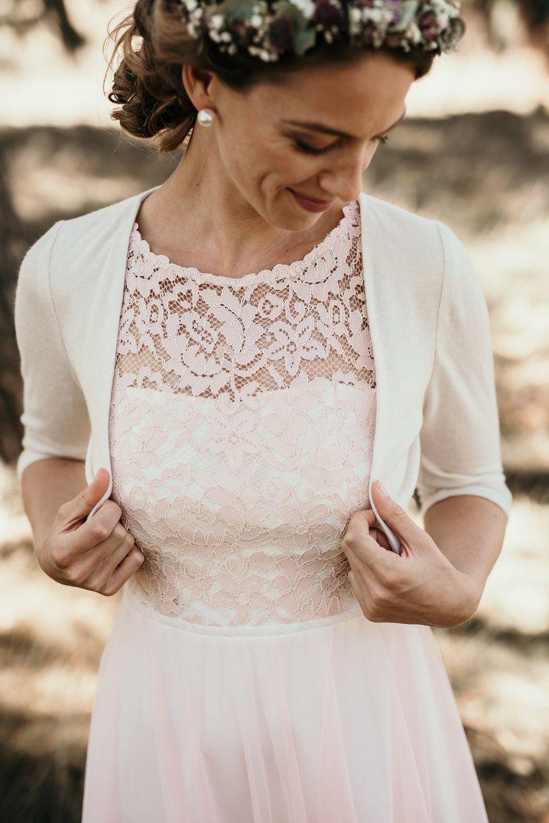 Hochzeitskleid altrosa: Für alle Bräute, die es nicht so klassisch