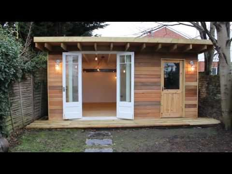 Complete Backyard Shed Build In 3 Minutes Icreatables Shed