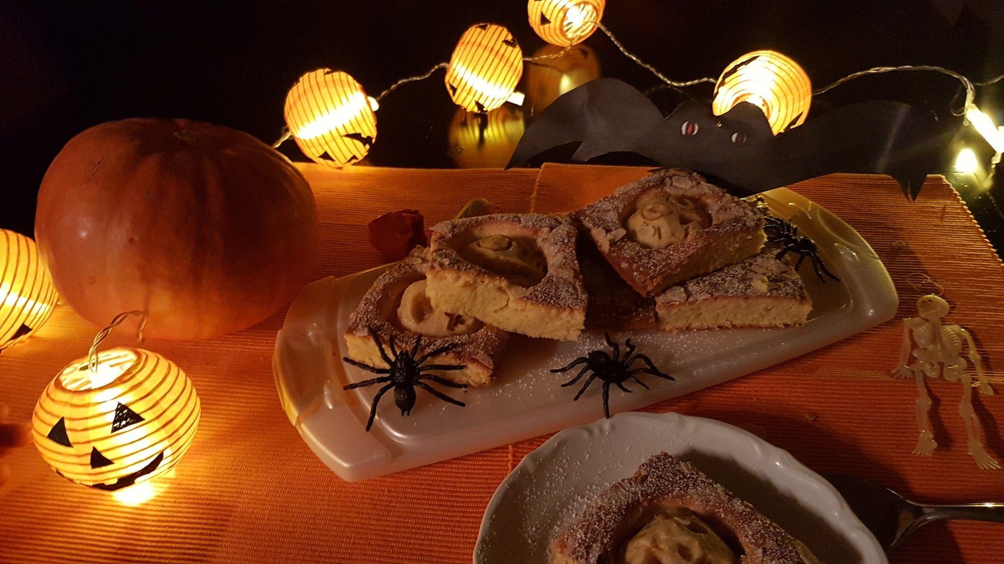 Halloween Apfelkuchen 🎃 Süße rezepte, Apfelkuchen, Kuchen