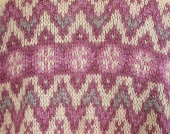 Nordstrikk | vintage Norwegian fair isle stitch pattern | Knit ...