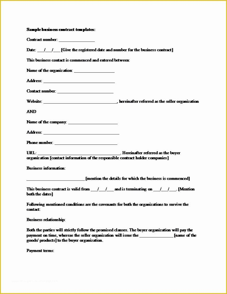 Software Support And Maintenance Agreement Template In 2020 With