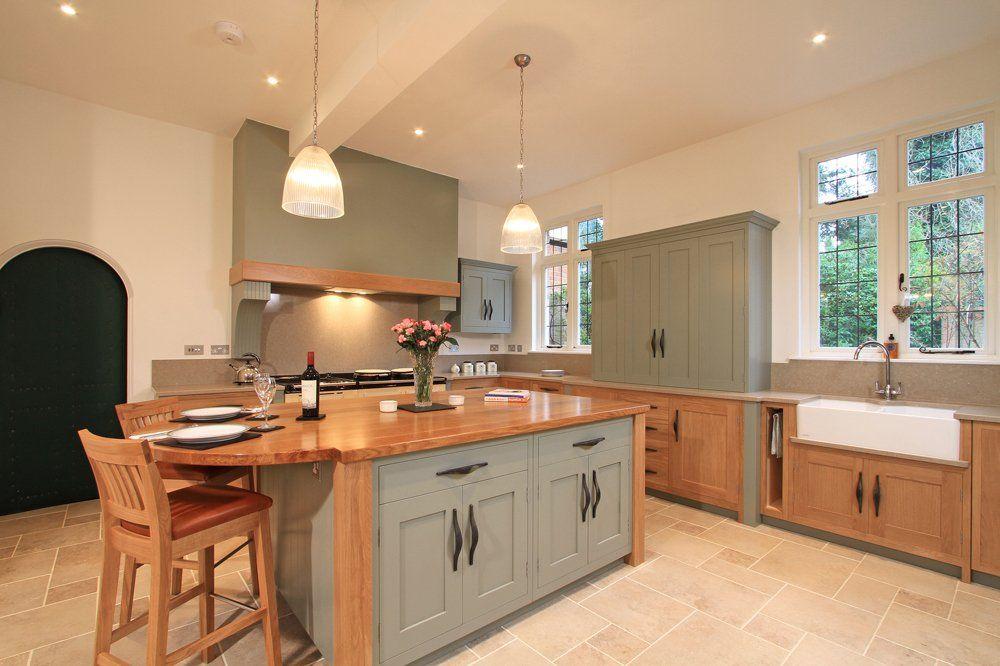 Furniturepaintedoakkitchencabinetsafterremodelwithtwo Simple Repainting Oak Kitchen Cabinets Review