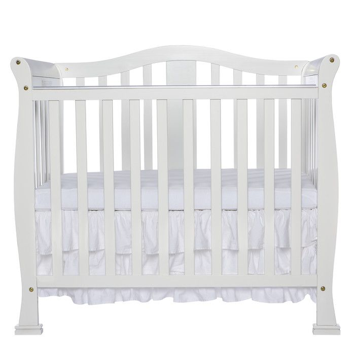 The Dream On Me Naples 4 In 1 Convertible Mini Crib Will Add Cheer To Any Baby S Nursery The Contemporary Style Will Add Beauty And Mini Crib Cribs Baby Cribs