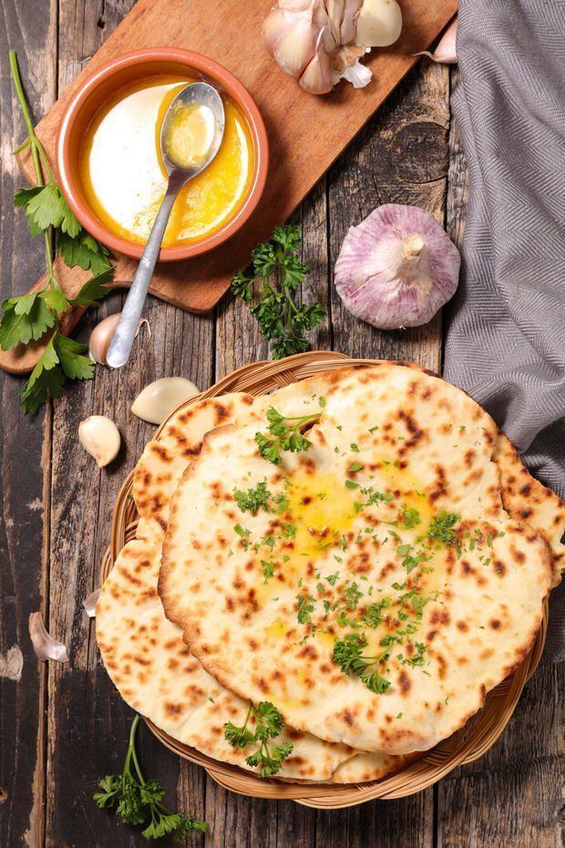 Rezept: indisches Naan-Brot selber machen • WOMAN.AT