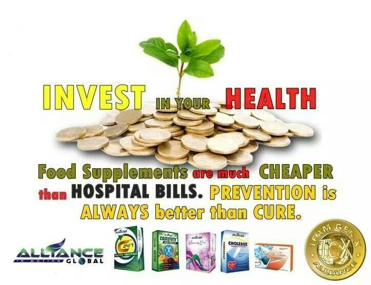 Invest your Health!