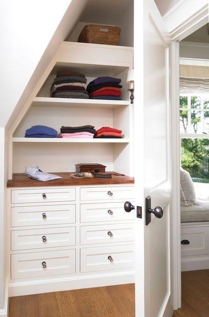 11 Ways to organize under your stairs