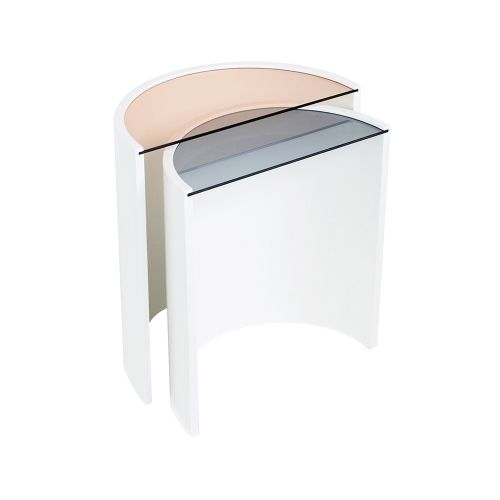 Contour Side Tables by Bower, made by Bower