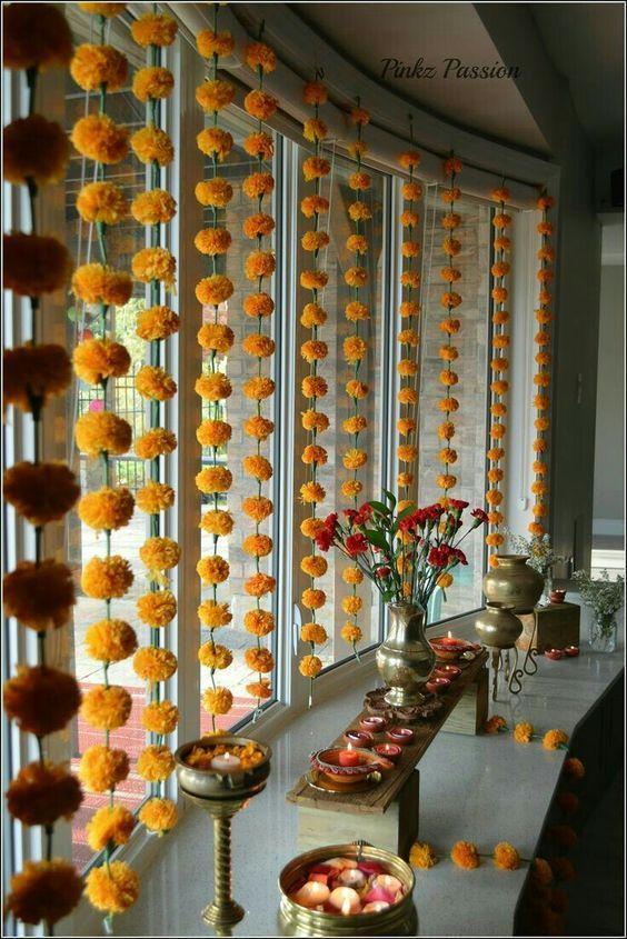 32 Diwali Diy Decoration Ideas You Must Try Diwali Decorations At Home Diwali Diy Housewarming Decorations