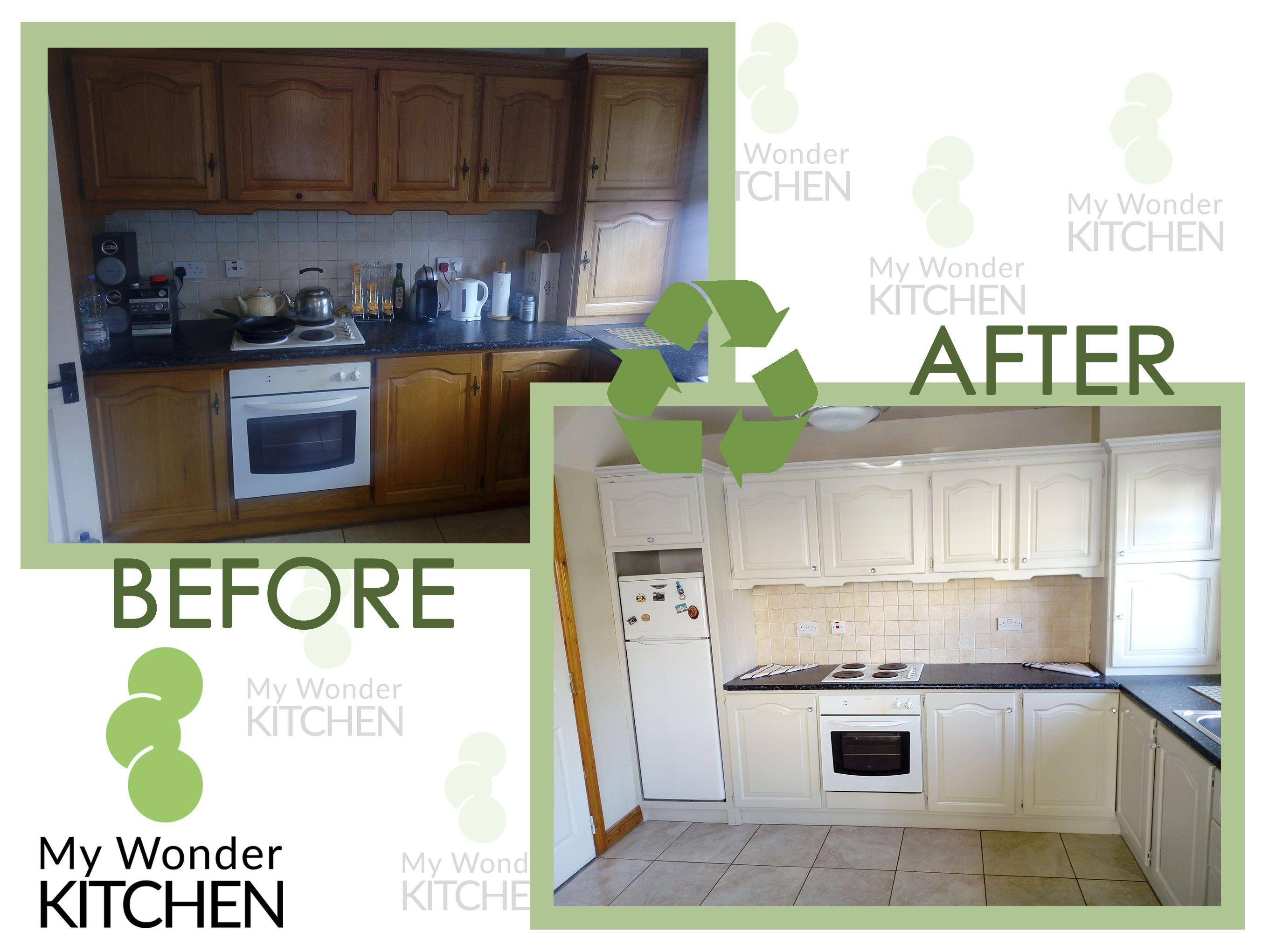 Kitchen Respray Dublin ILoveMyOldKItchen MyWonderKitchen