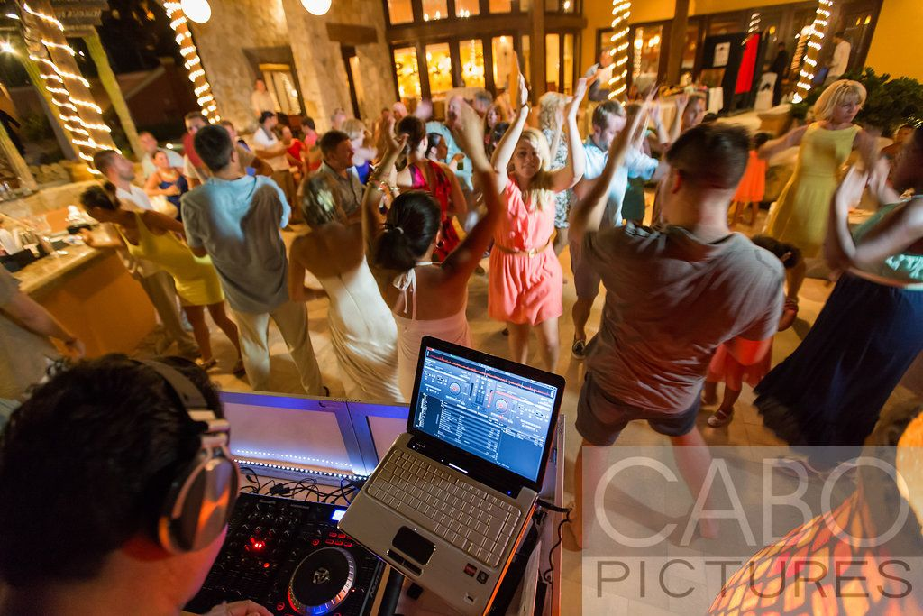 Wedding DJ Los Cabos, August 2nd, 2014 @ Sheraton Hacienda Del Mar, Los Cabos, photograph courtesy Cabo Pictures www.cabopictures.com