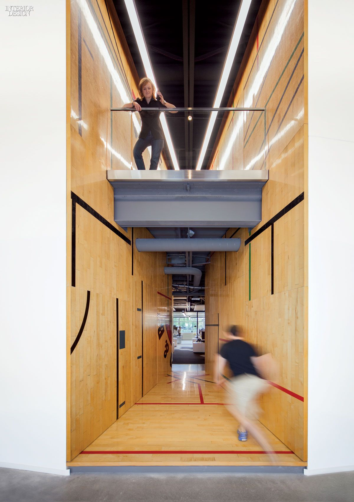 Gensler Adapts Former Gym For Tableau Software Offices