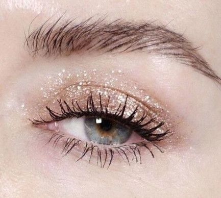 eye makeup natural glitter 44 new ideas in 2020  makeup
