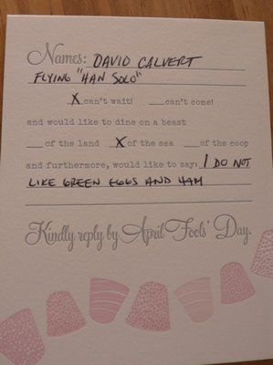 Best Response Cards Wedding Awesome Rsvp Card It S My Party