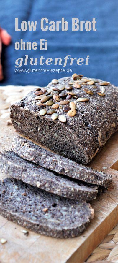 Low Carb Brot glutenfrei ohne Ei - Glutenfrei Rezepte #glutenfreebreakfasts