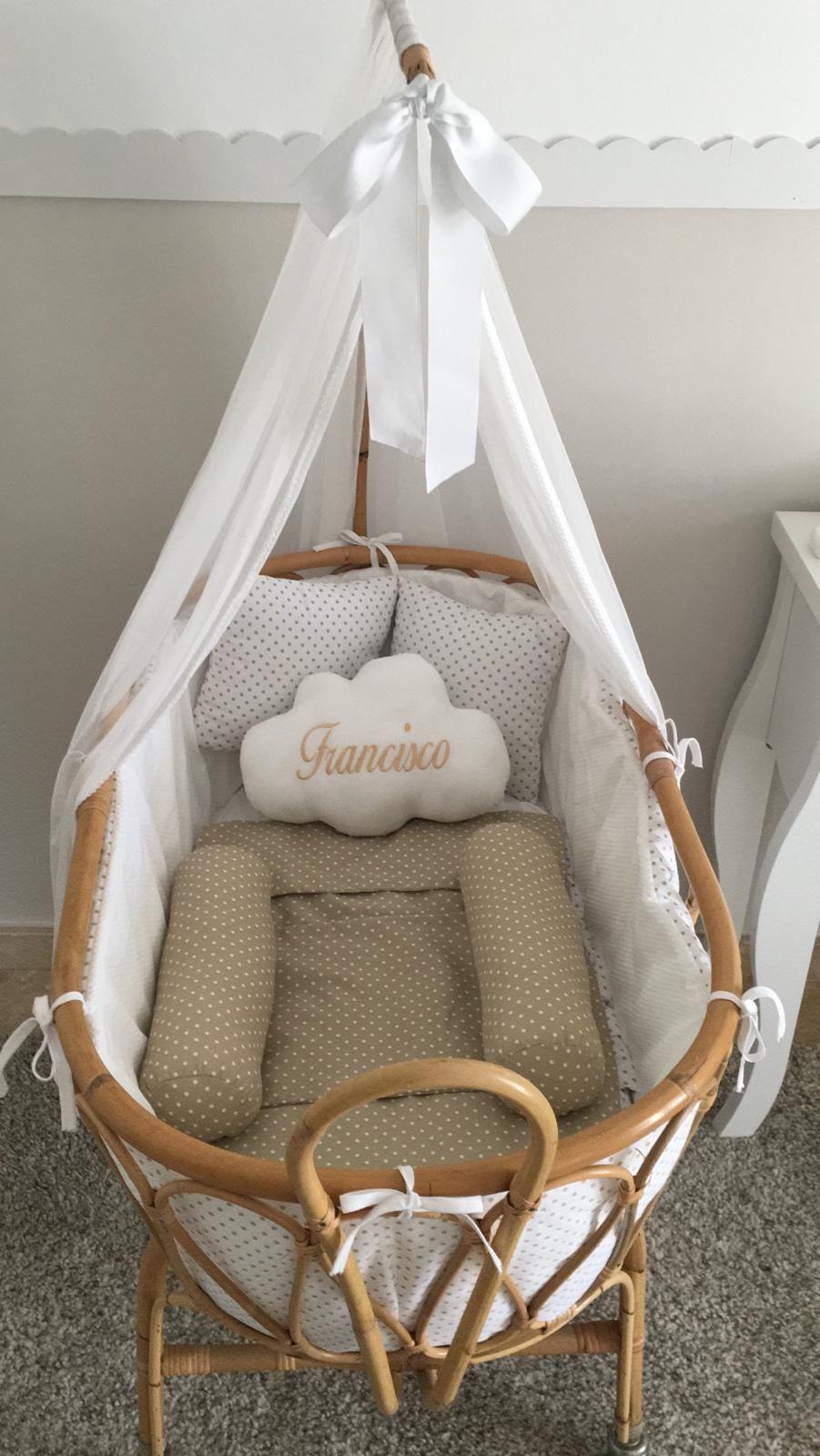 efa0336ca7c Moises de caña para bebé totalmente artesanales y completamente ...