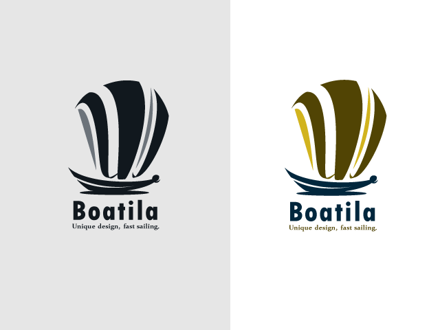 "Logo FOR SALE!!! The logo is a sailing vessel, the sails of the boat are made from the letter ""W"". The logo fits for: boat business, fishing, travel agency, sailing etc. www.thracianweb.com contact@thracianweb.com"