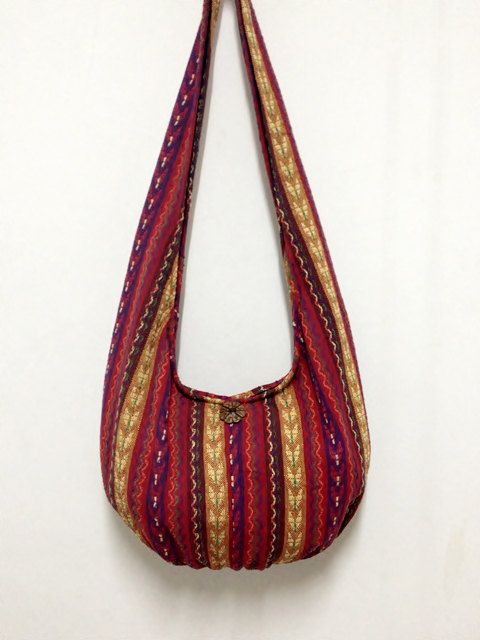 Handmade Woven Cotton Bag Hippie bag Hobo bag Boho bag Shoulder bag Sling bag  Messenger bag Tote bag Crossbody Purse on Etsy 6d130d01c6e11