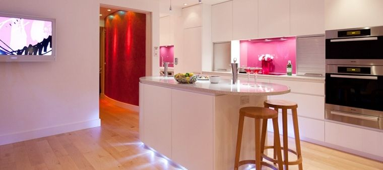 Colour For Cooking Which Color To Decide On High Gloss White Kitchen Pink Kitchen Walls White Gloss Kitchen