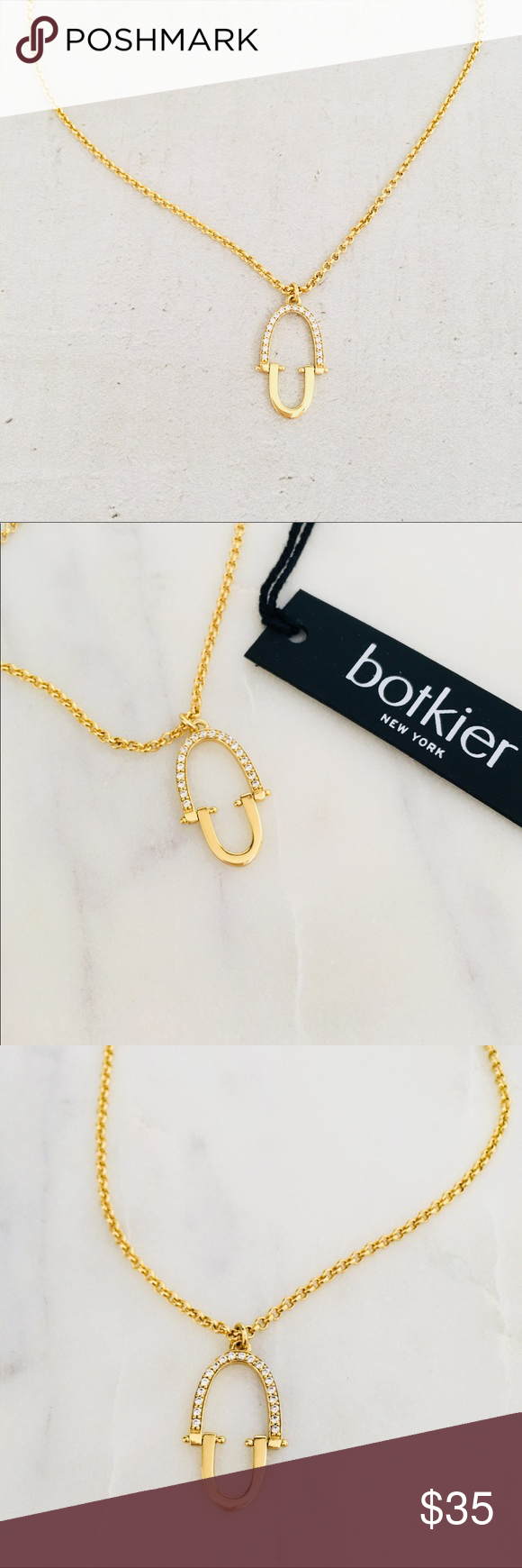Botkier glass oval pendant necklace oval pendant round glass and