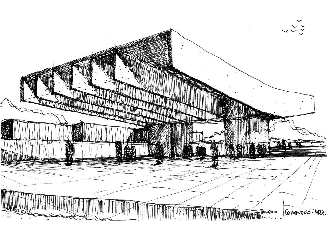 El croquis en la arquitectura es uno de los principales - Que es un porche en arquitectura ...