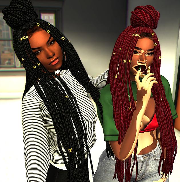 Black Hairstyles Sims 4 Download: Sims 4 CC Hair (Female)