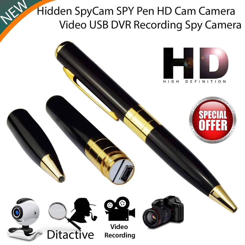 Full HD Mini Spy Camera Pen USB Hidden DVR Camcorder Video Audio Recorder 32GB