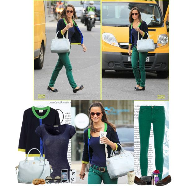 Pippa Middleton: Lucky Lady in Green, created by fashiongirl1897 on Polyvore