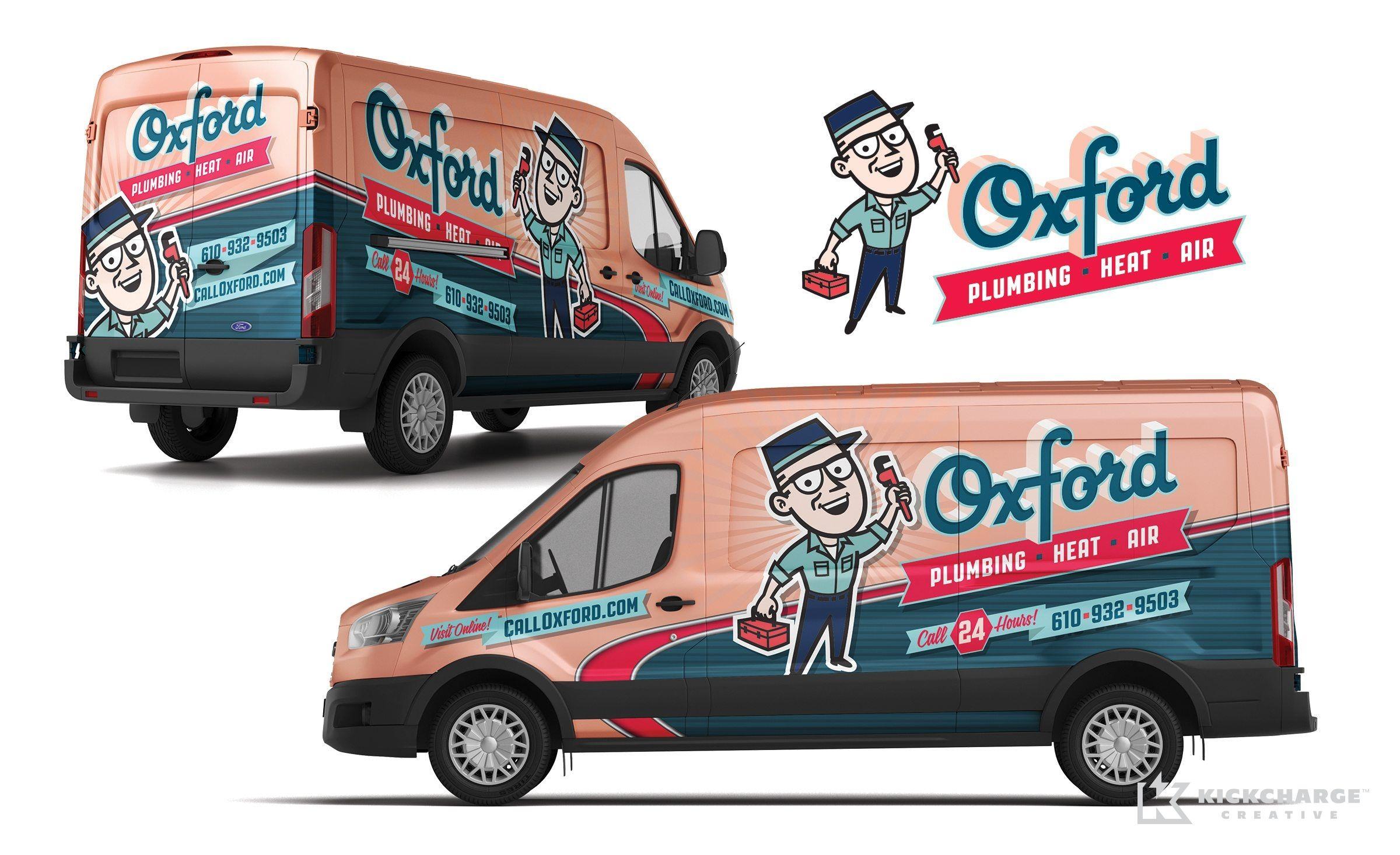 Oxford Kickcharge Creative Cool Trucks Car Wrap Design Car Wrap