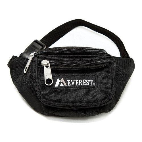 Everest Signature Large Fanny Pack Black Set of 2
