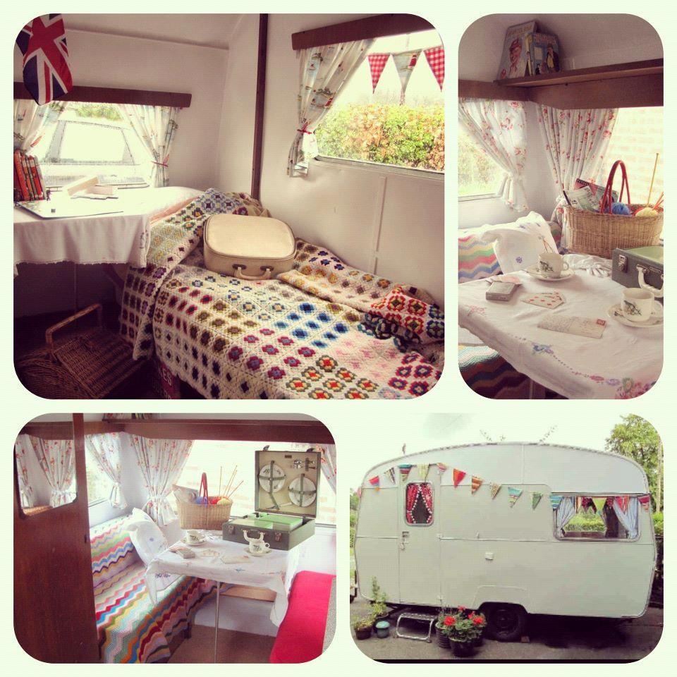 chalk talk caravan love vintage campers pinterest caravane camping car et relooker. Black Bedroom Furniture Sets. Home Design Ideas