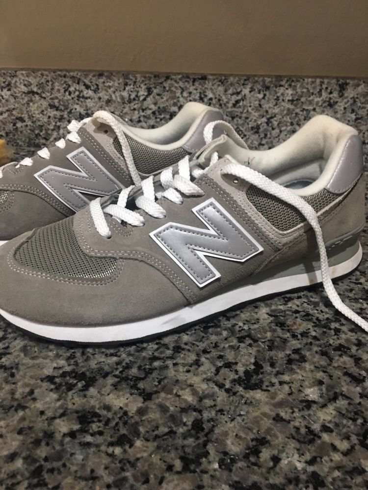 75a0b12ae0791 New Balance 574 Women s Running Sneaker Shoes in Overcast size 8  fashion   clothing  shoes  accessories  womensshoes  athleticshoes (ebay link)