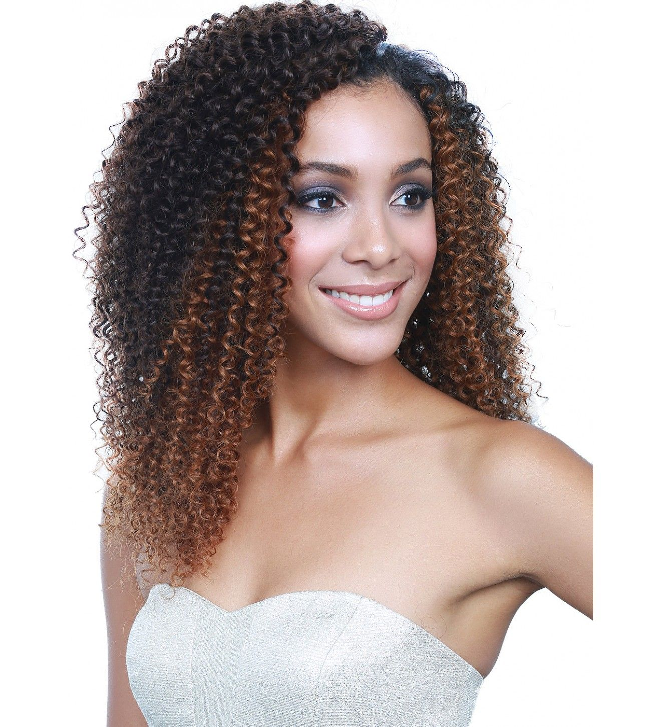 Bobbi Boss Bonela Brazilian Natural Jerry Curl Human Hair