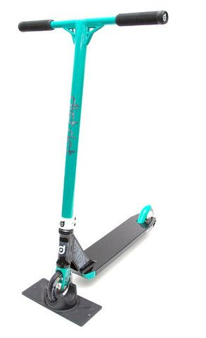 District Custom Limited Edition Complete Pro Scooter Teal