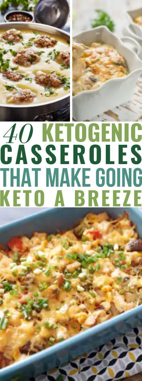 40 Keto-Aufläufe zur Gewichtsreduktion | Suchen Sie nach einem kohlenhydratarme...