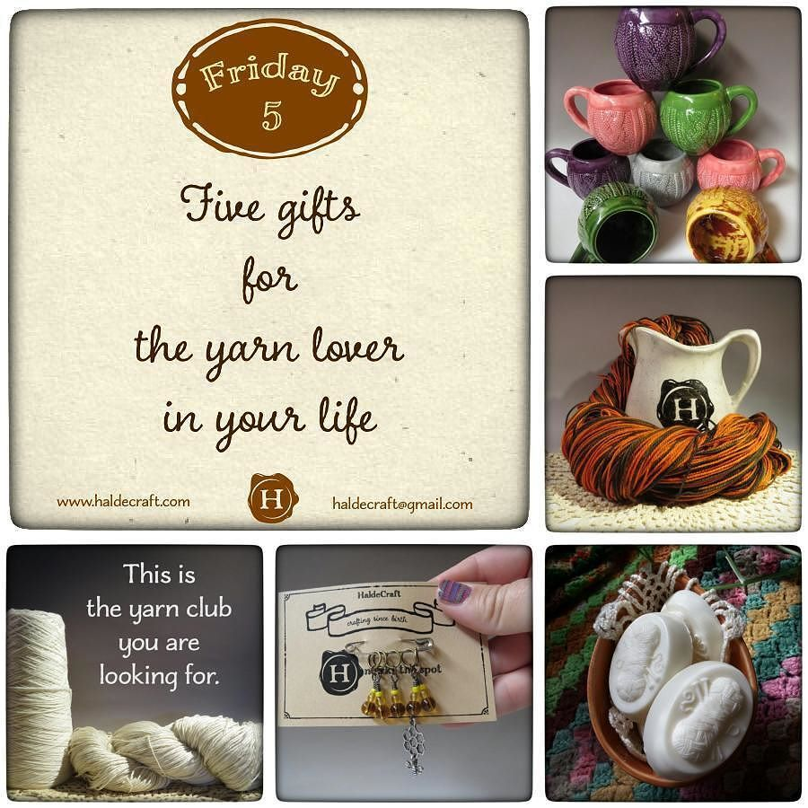 Psst! Did you see my blog post yesterday? Five gift ideas for the yarn lover in your life! (Chances are good that if you are reading this you are a yarn lover... so feel free to pass this link on to your friends and family!). You can read it here: http://ow.ly/Ukktc