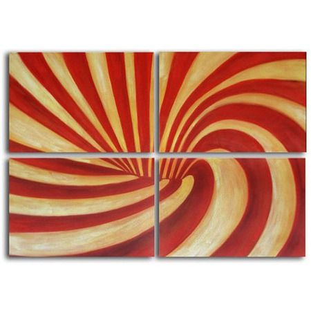 I pinned this 4 Piece Swirl Wall Art Set from the Design Declaration event at Joss and Main!