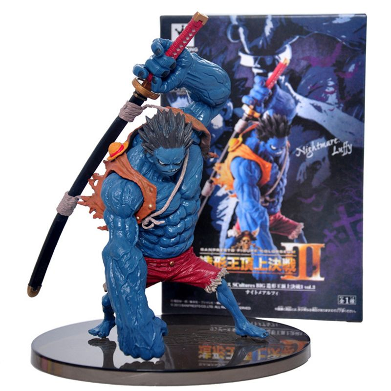 One Piece SCultures BIG Monkey D Luffy Nightmare PVC Figure Toy New In Box