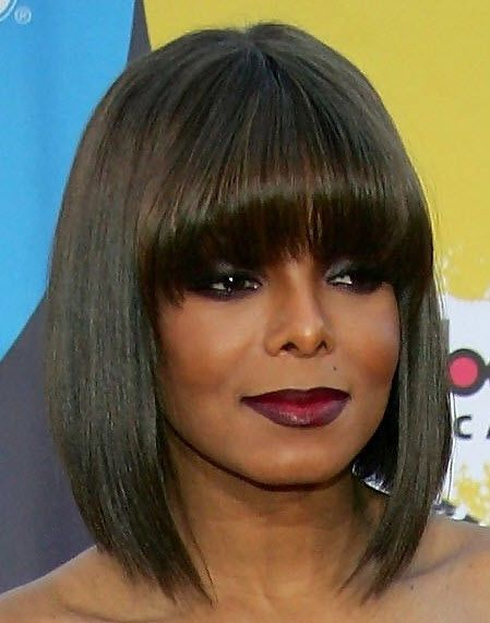 Janet Jackson Hairstyles All The Glamour Hair Styles Bob Hairstyles Hairstyles For Thin Hair
