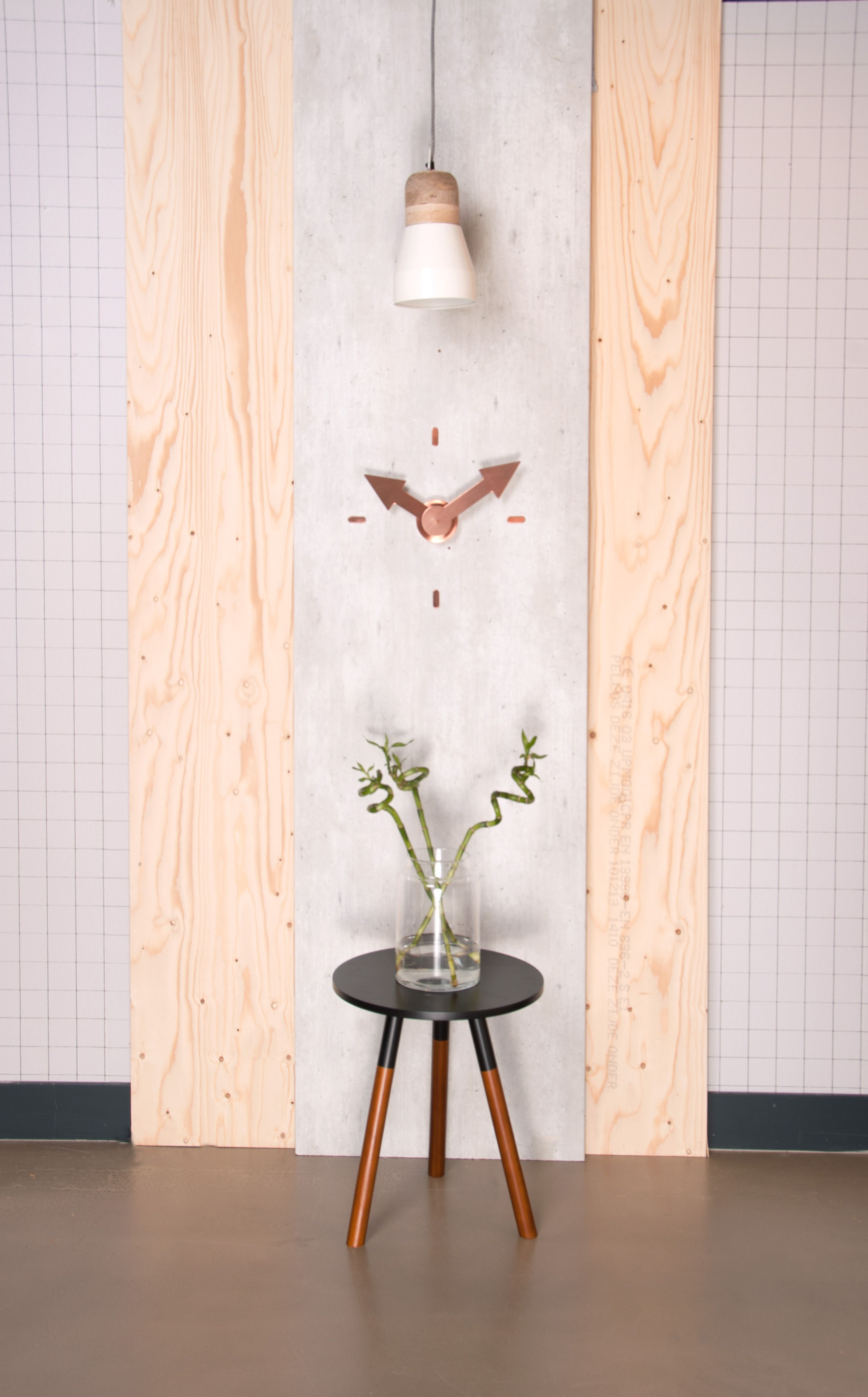 Present time woonaccessoires woondecoratie klok modern woonkamer interieur