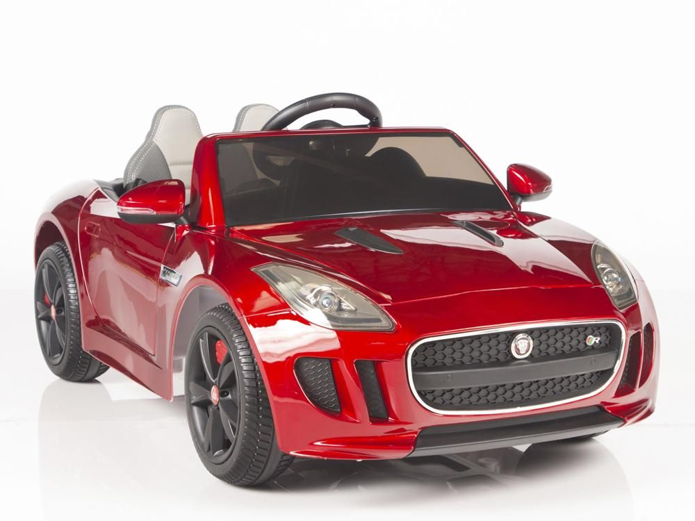 Jaguar F Type Ride On Luxury Sports Car With 2 4g Remote Control Trunk Jaguar F Type Sports Cars Luxury Sports Car