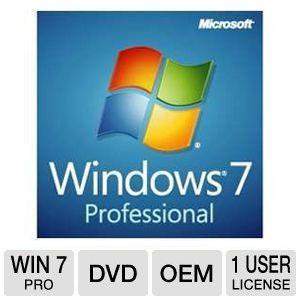 Microsoft Windows 7 Pro 64 Bit Oem 120 After 20rebate Td 140
