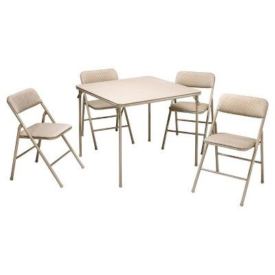 Advantages Of White Folding Table And Chairs Compact Dining
