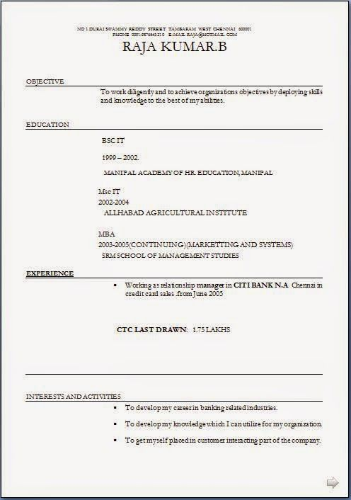 Good Resume Template Sample Template Example Of Excellentcv