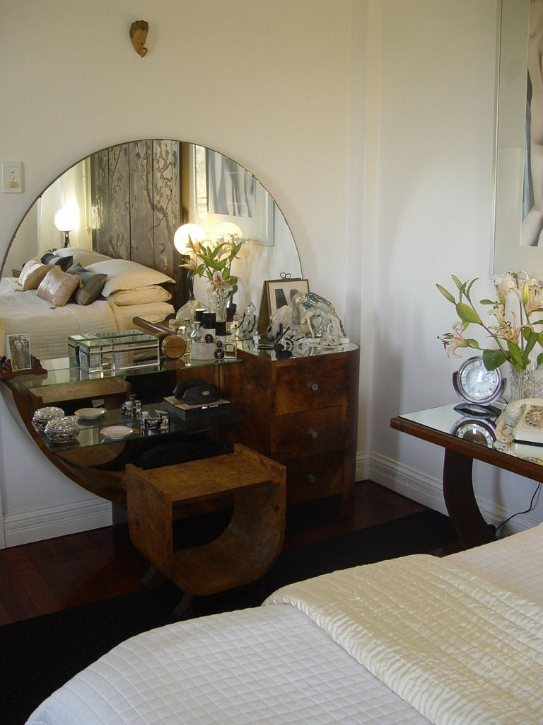 A dressing table adds a stylish finish to every bedroom
