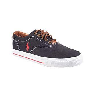 polo ralph lauren shoes vaughn lace sneaker adidas black&white